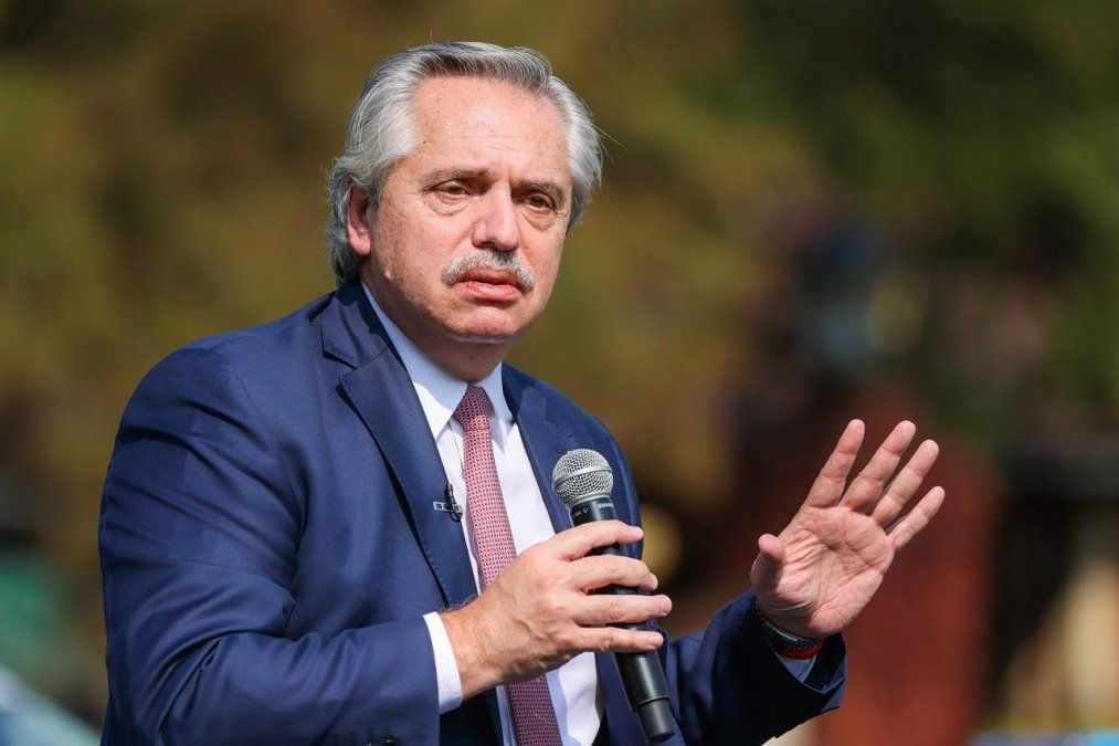 El presidente Alberto Fernández habló sobre las críticas por las nuevas medidas sanitarias.