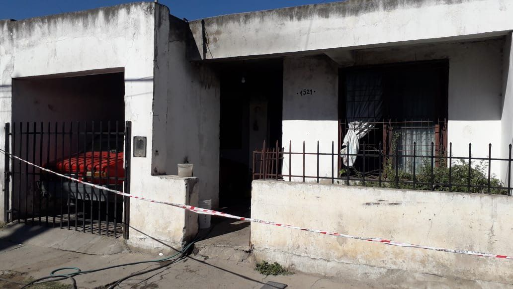 Falleció una mujer en Villa El Libertador al incendiarse su vivienda