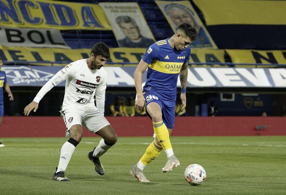 Boca derrotó a Patronato en el debut de Battaglia como DT
