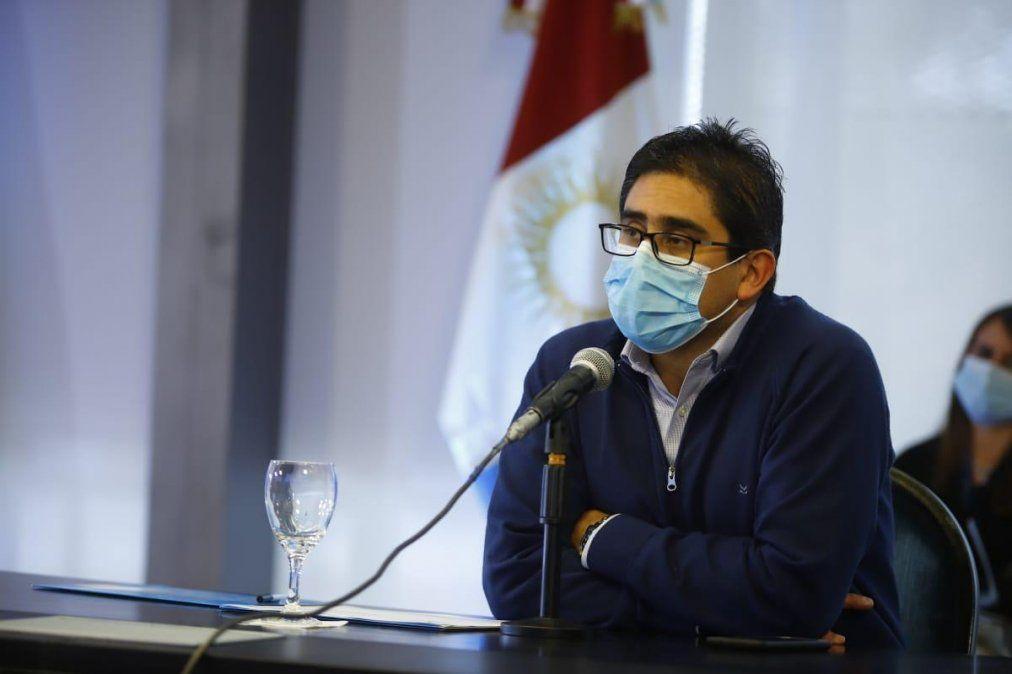 El ministro de Salud de Córdoba dio positivo de Covid-19
