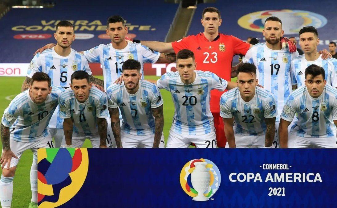 Argentina repetiría el once que venció a Brasil por Copa América