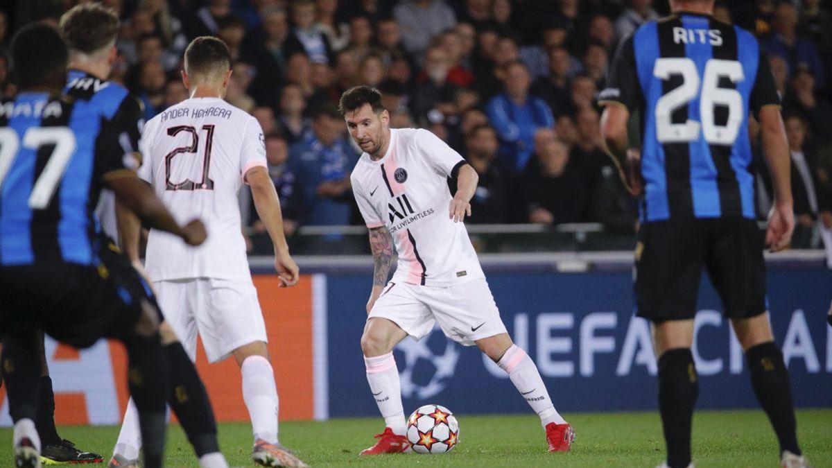 Messi fue titular en el PSG.