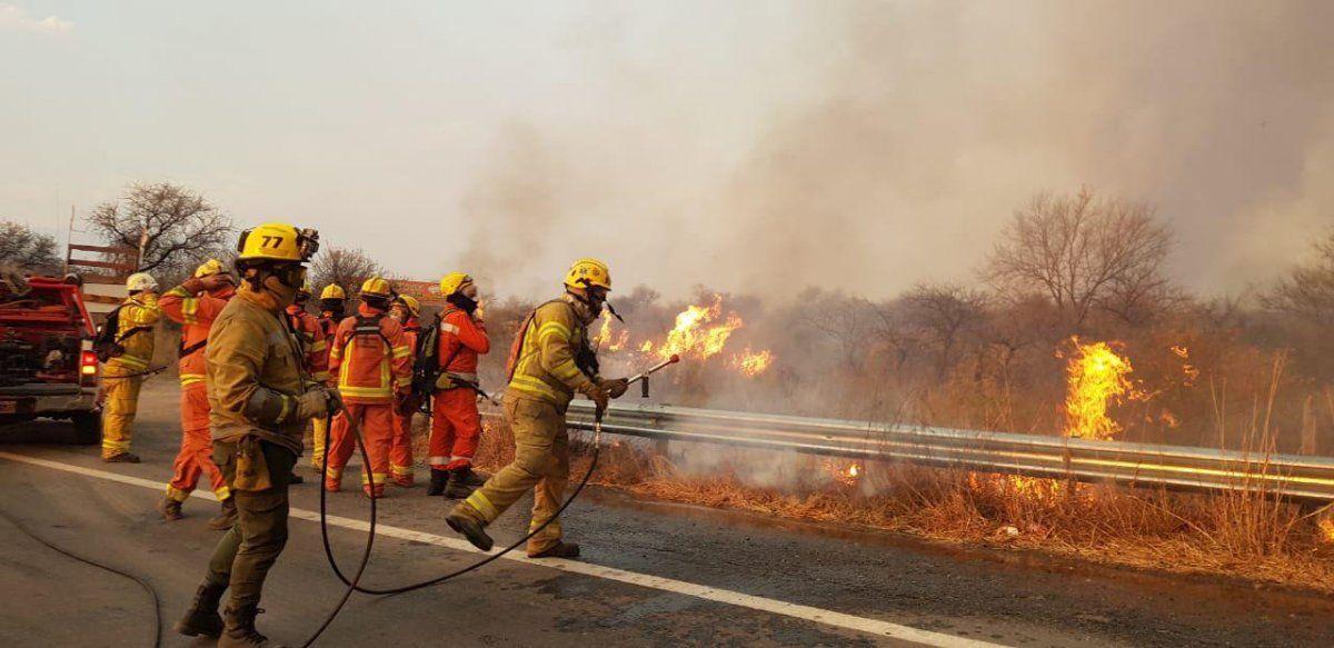 Están contenidos los incendios en el norte de Córdoba