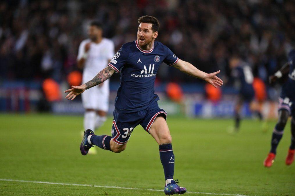 Con un golazo de Messi, PSG venció al Manchester City