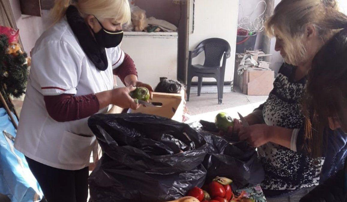 Lunitas Mías alimenta a más de 100 niños de barrio San Roque.