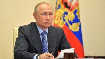 Putin aislado por coronavirus: fue contacto estrecho