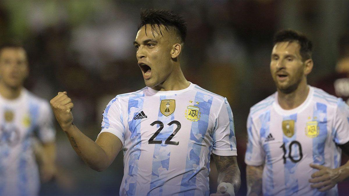 Argentina superó con comodidad a Venezuela