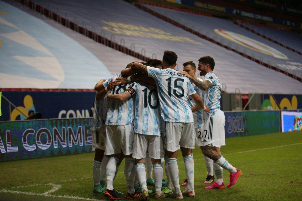 Argentina disputó su segundo duelo en esta Copa América 2021 de Brasil por el Grupo A.