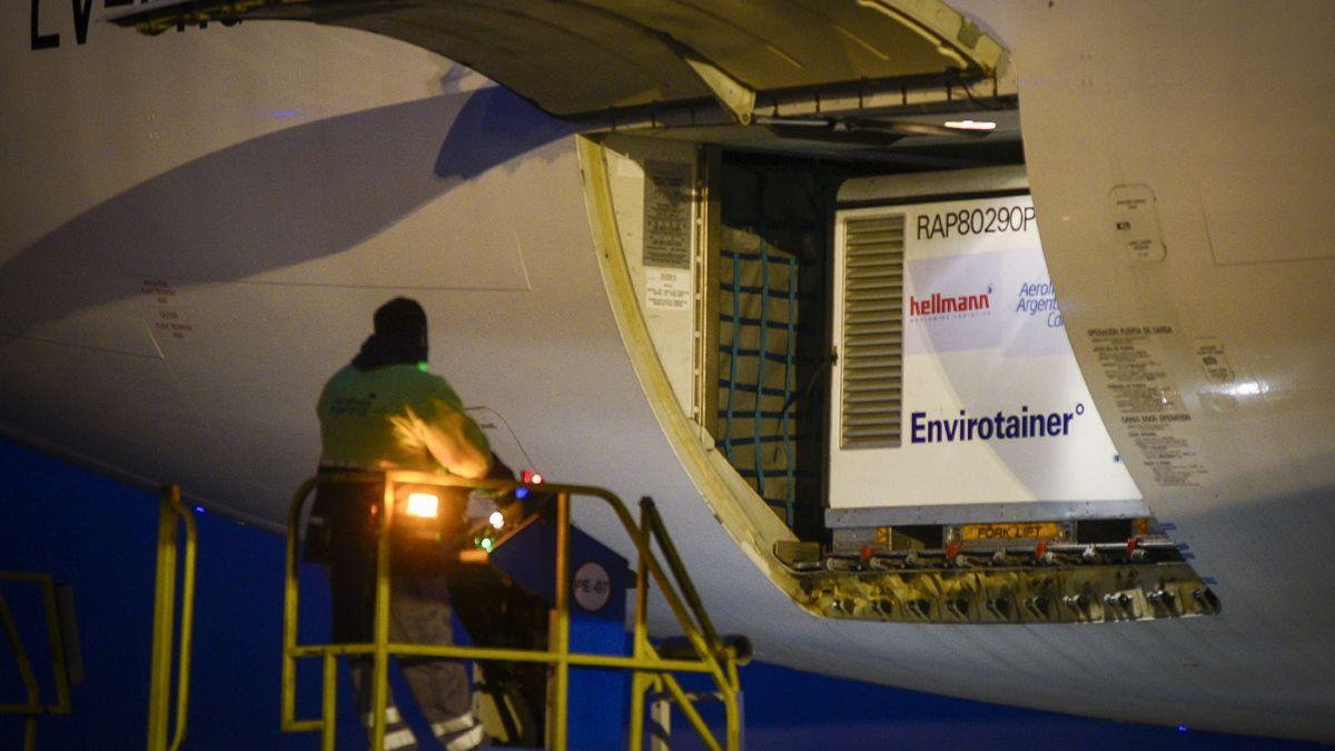 Llega hoy un nuevo cargamento de Sinopharm para destinar a niños entre 3 y 11 años