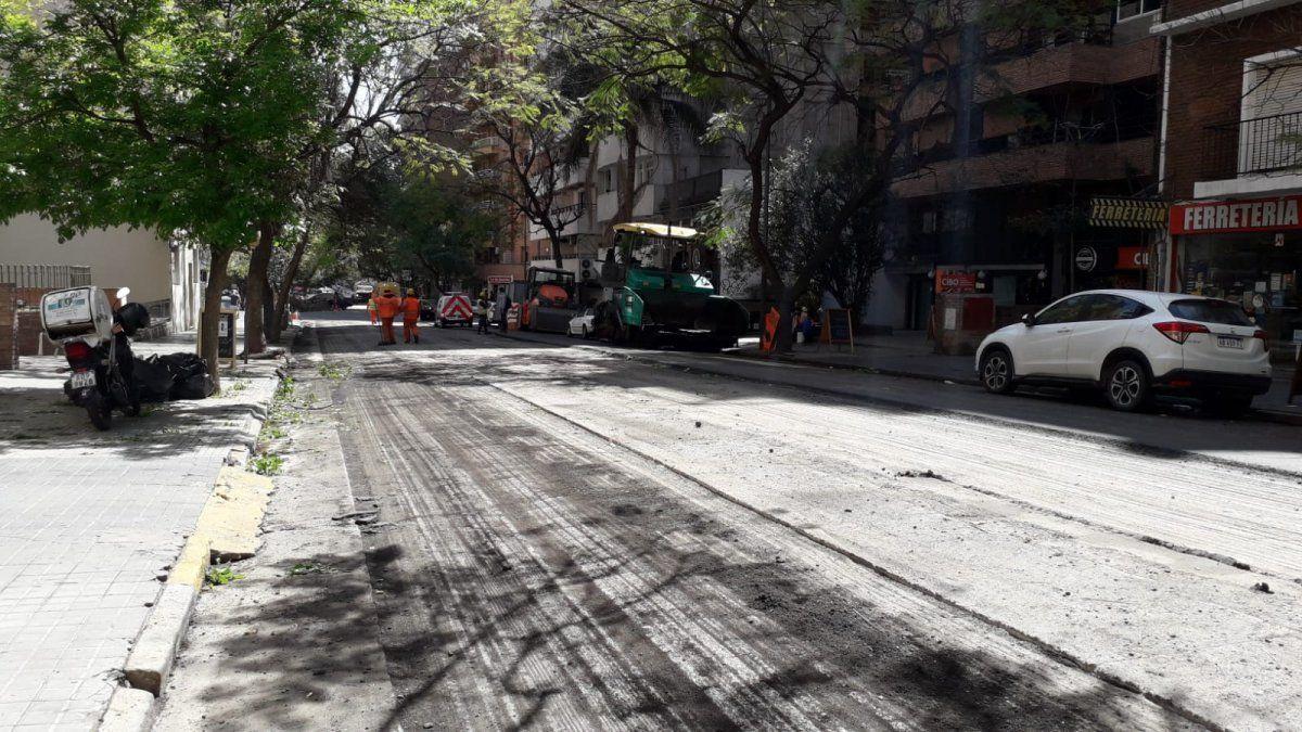 Cortes por obras de repavimentación en Nueva Córdoba
