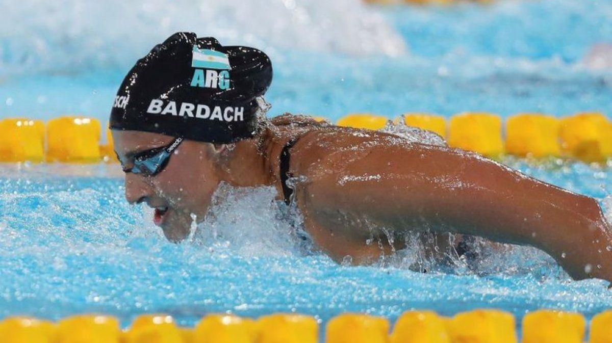 Virginia Bardach quedó tercera en su clasificatoria de 400 metros combinados y culminó su participación en Tokio 2020.