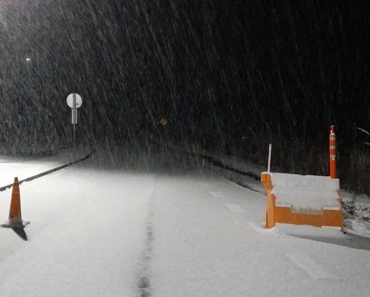 Por la nevada cierran el Camino del Cuadrado y el de Altas Cumbres
