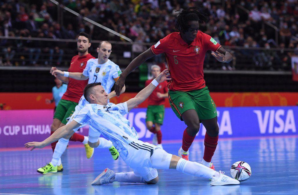 Argentina luchó hasta el final, pero cayó ante Portugal