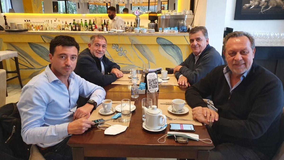 Juez, De Loredo, Negri y Santos, juntos después de las PASO