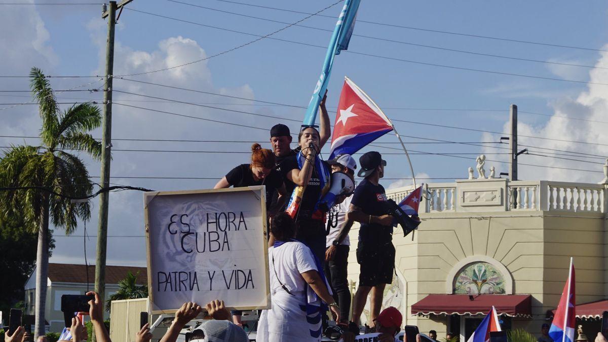 Cuba vive una nueva jornada de protestas.