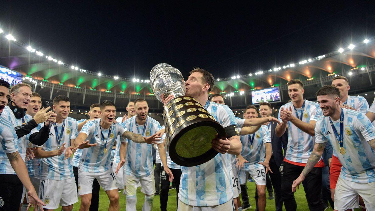 Messi destacó que se sacó la espina de ganar algo con la Selección.