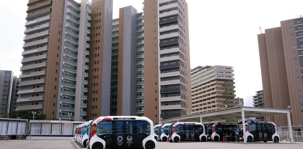 Se inauguró la Villa Olímpica de Tokio.