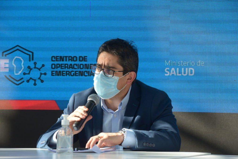 El ministro Diego Cardozo brindará detalles de cómo sigue el Plan de Vacunación.