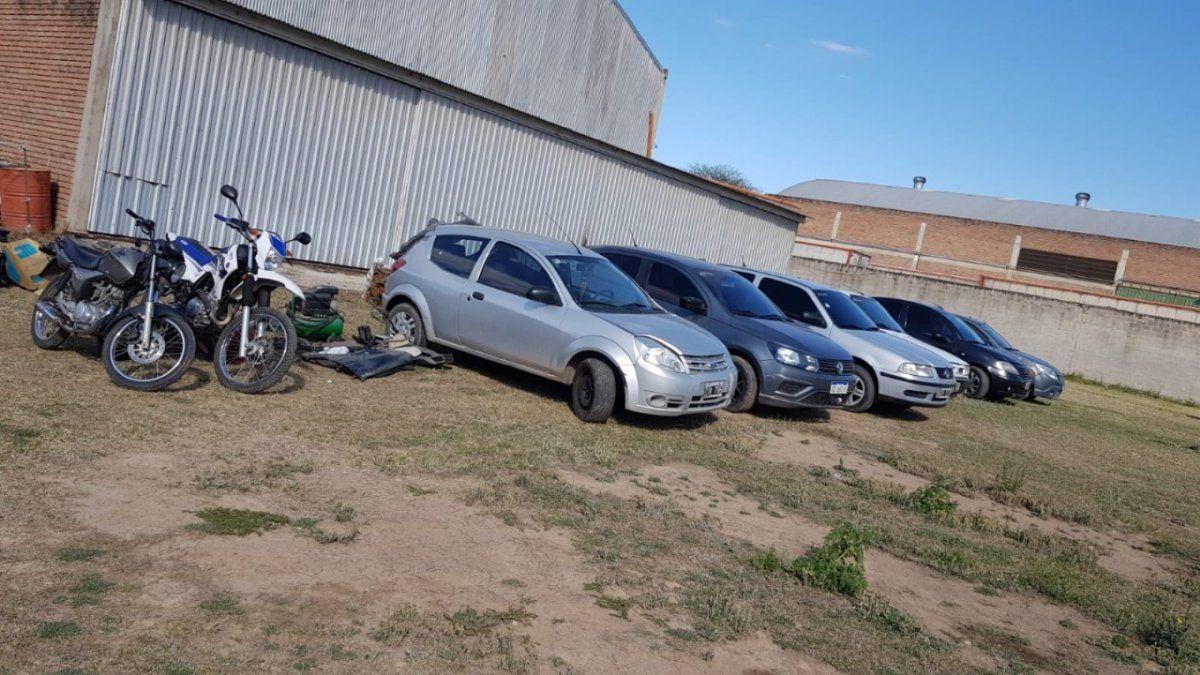 Detuvieron a 26 personas en un megaoperativo por robo de autos