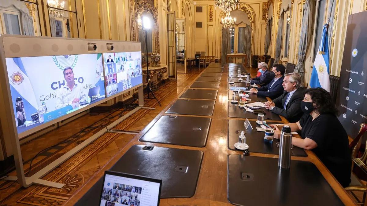 Alberto Fernández encabezó una reunión con gobernadores del Norte Grande.