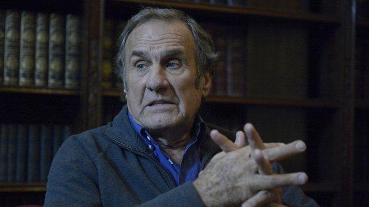 El senador nacional y exgobernador de Santa Fe Carlos Reutemann