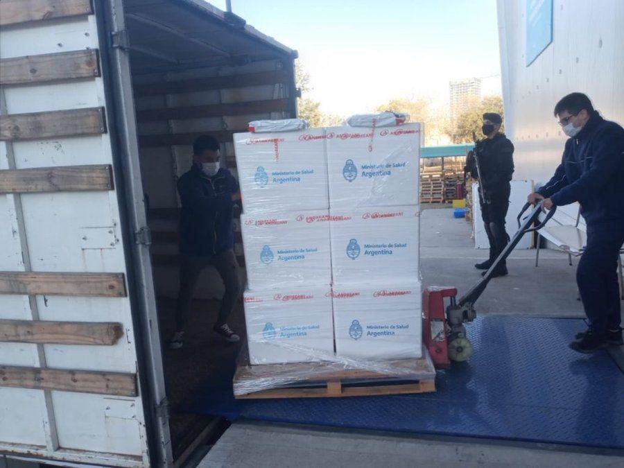 Córdoba recibió 89.200 dosis de Sputnik V