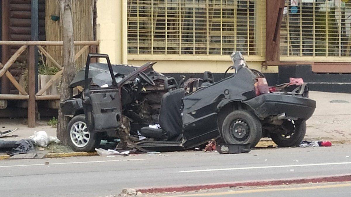 Choque en avenida Colón: ambos conductores estaban en infracción