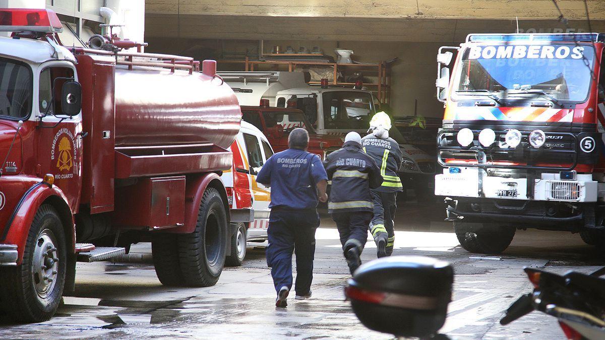 Un hombre y sus dos hijos muerieron al incendiarse su casa en Río Cuarto