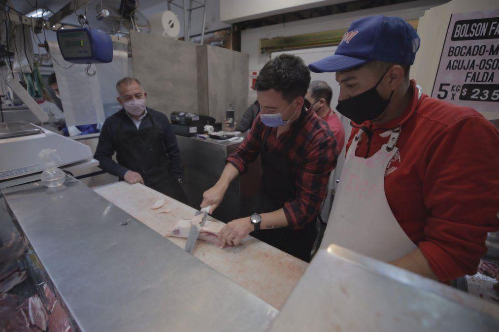 Juez y De Loredo afirman que fue un error cerrar las exportaciones de carne