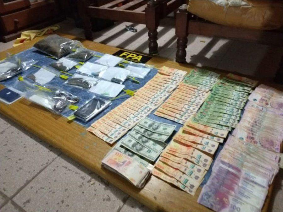 Cayó banda familiar: secuestraron cocaína, marihuana y armas de fuego
