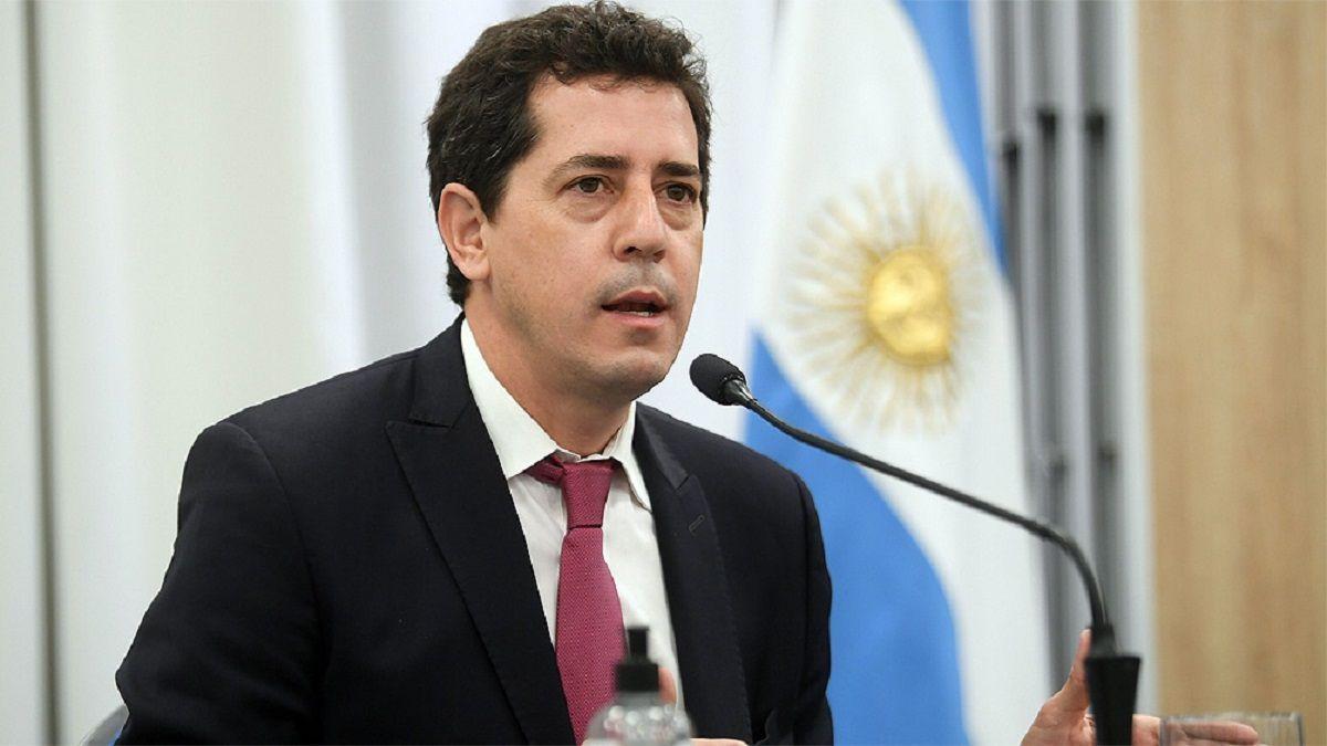 Wado de Pedro presentó su renuncia a Alberto Fernández