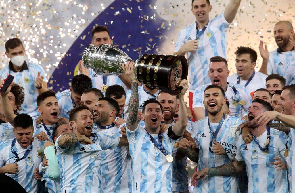 Las imágenes que dejó el triunfo de la Selección