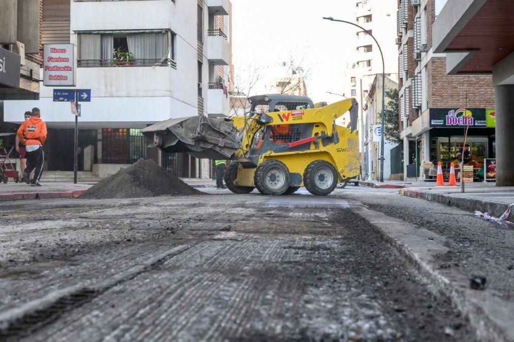 Circulación restringida en calles Avellaneda y Urquiza