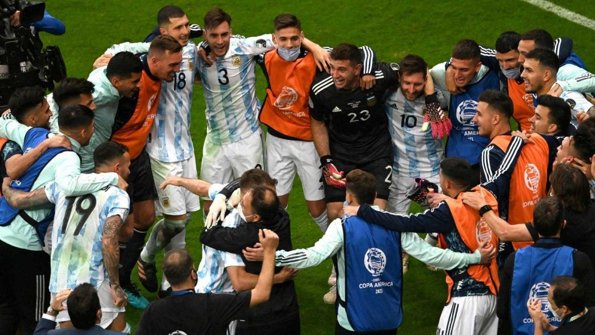 Argentina enfrentará a Brasil por la final de la Copa América.