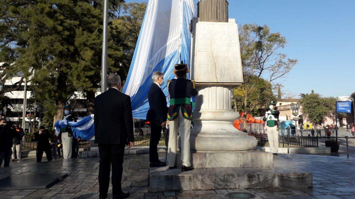 Llaryora participó de los festejos por el 448° Aniversario de la ciudad
