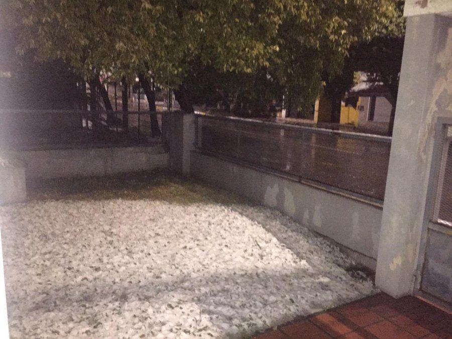 Impactante nevada en Córdoba que llegó hasta la capital