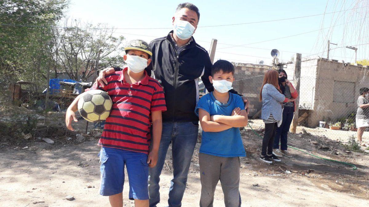 Limpian un basural histórico en barrio San Ignacio