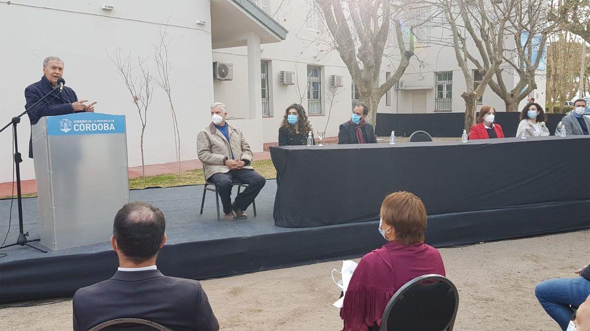 El gobernador Schiaretti inauguró el Polo Integral de la Mujer en Río Cuarto.