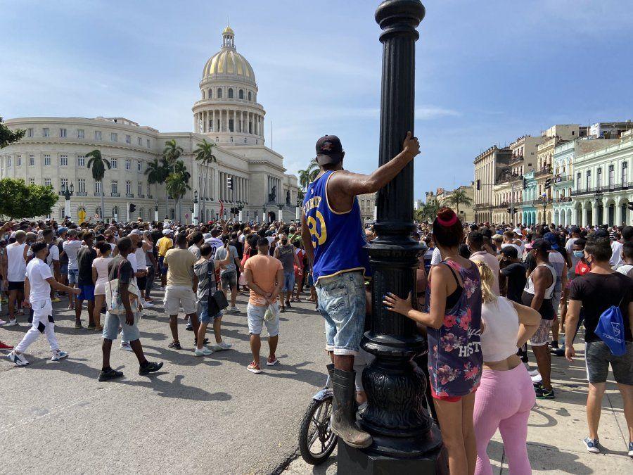 Cuba vivió hoy una nueva jornada de protestas.