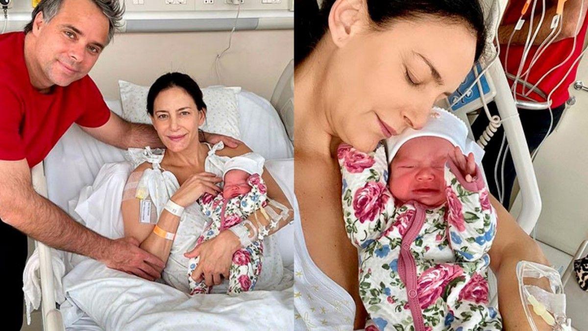 Luciana Aymar fue mamá por segunda vez y presentó a su hija