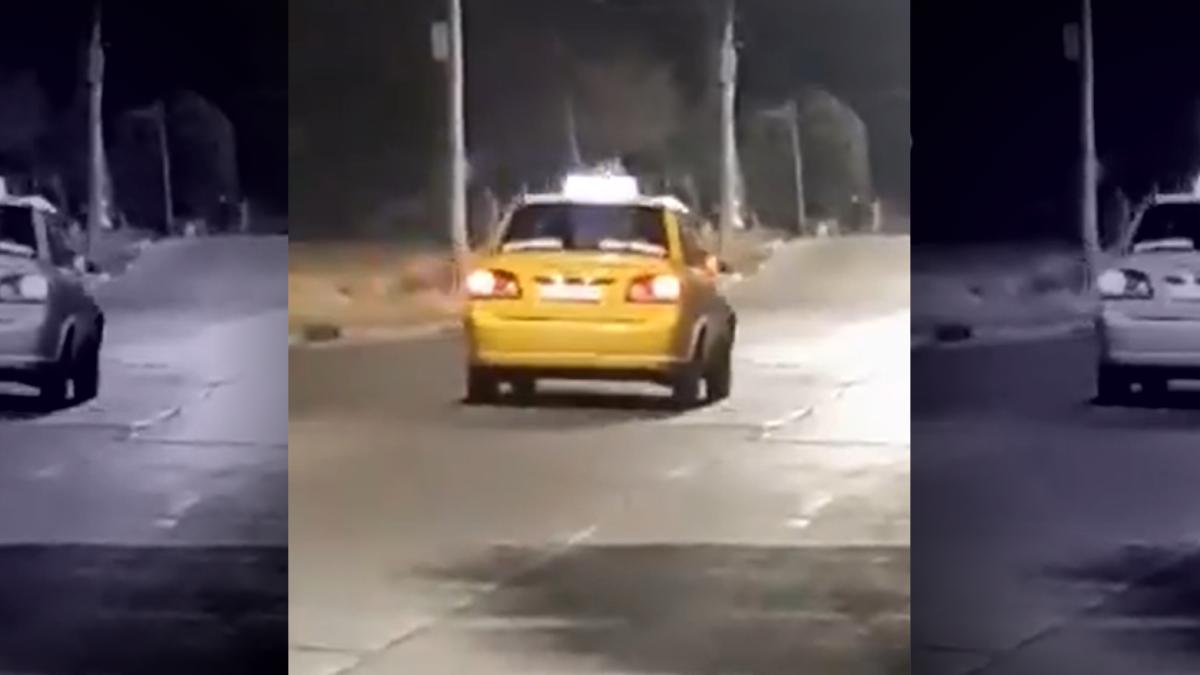 Video viral: Intento de robo piraña a un taxista en Córdoba