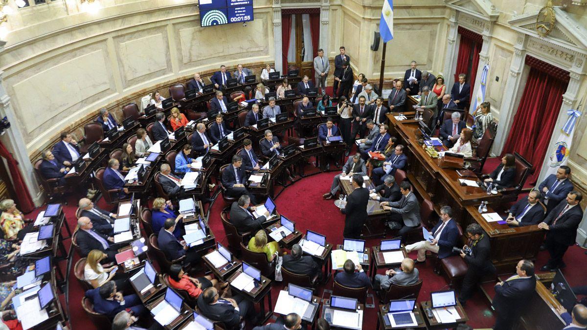 Tras un año y medio, el Senado vuelve a las sesiones presenciales