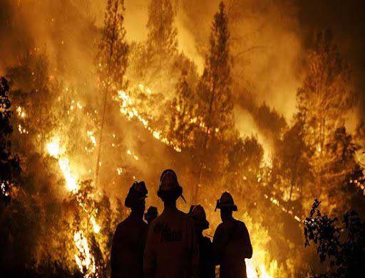 Investigan si la caída de un poste de EPEC generó el incendio en Potrero de Garay