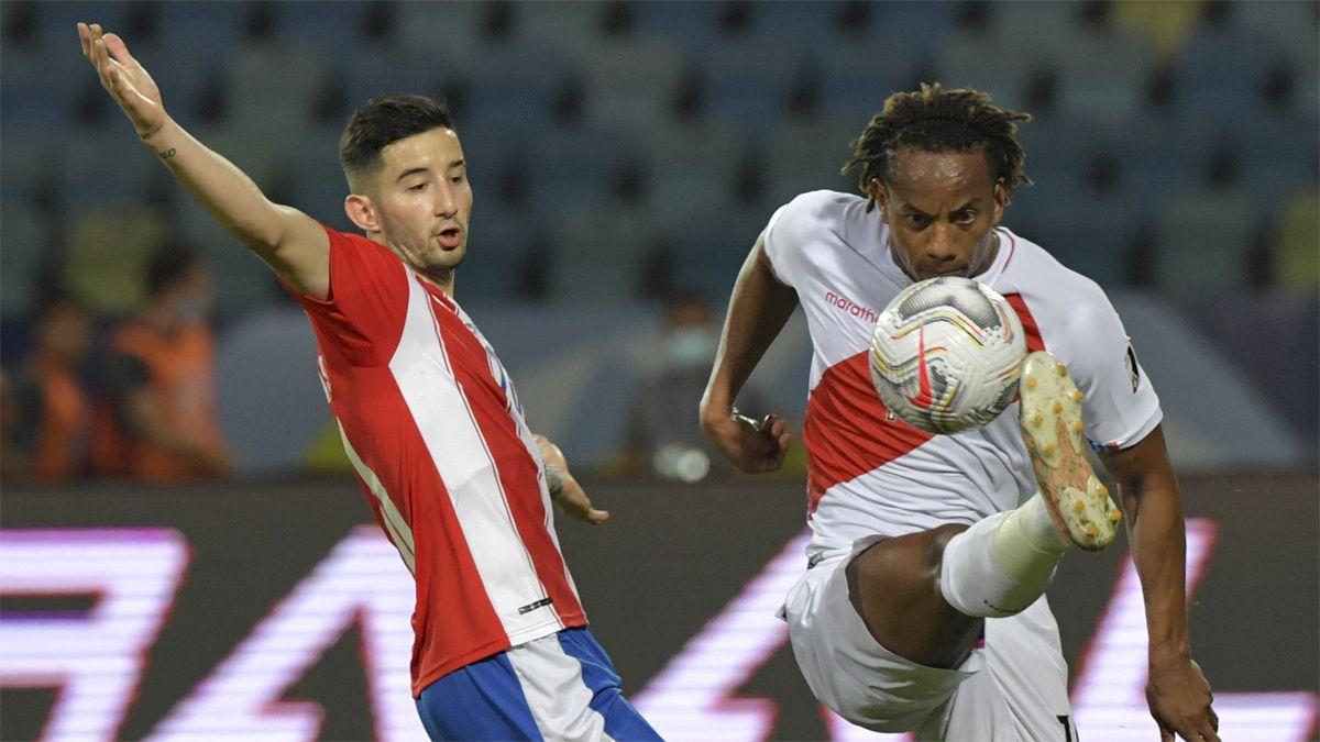 Perú se quedó con el duelo ante Paraguay.