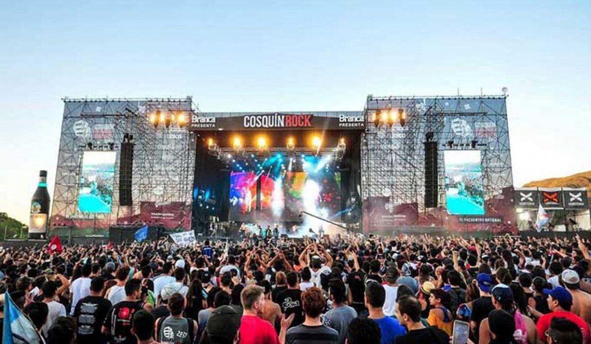 Confirman el Cosquín Rock para febrero de 2022