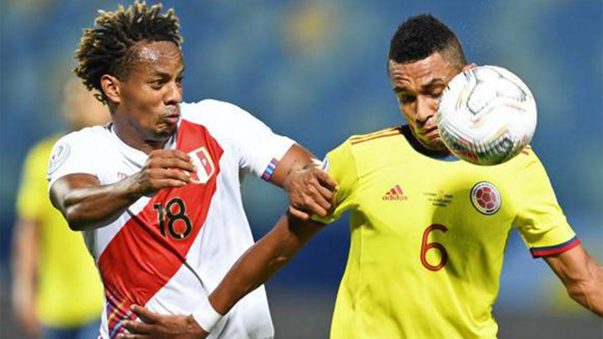 Colombia y Perú definen el tercer puesto de la Copa América.