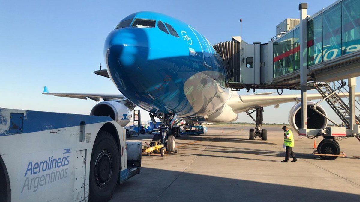Aerolíneas Argentinas suspenderá vuelos desde el 15 de mayo a distintos destinos internacionales.