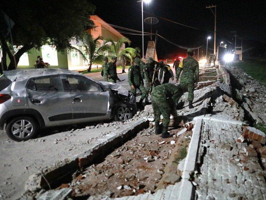 Un sismo de 7.1 grados sacude a México y deja al menos un muerto
