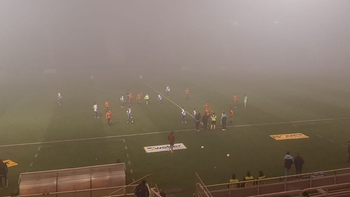 Estudiantes (RC) completa el encuentro suspendido por niebla en Mar del Plata