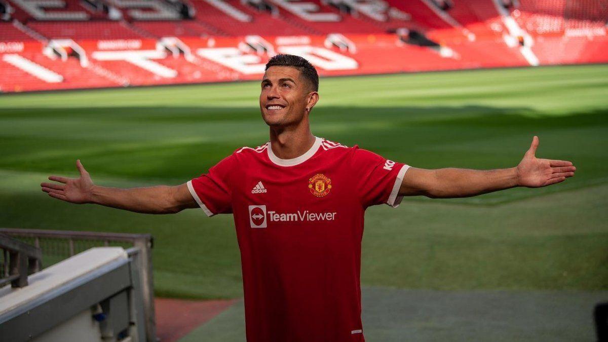 Cristiano Ronaldo vuelve a jugar en el Manchester United